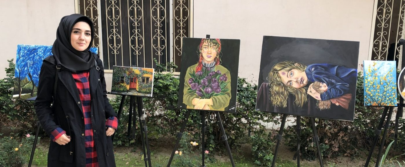 النشاط الطلابي : مواهب الطلبة في الفنون الجميلة