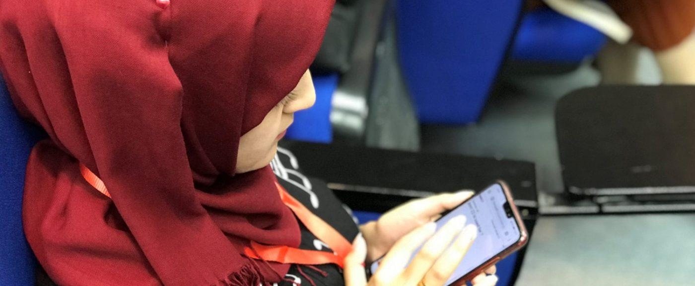 ورشة عمل : مبادرة تجمع المرأة للامن السبراني