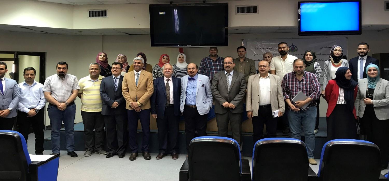 Workshop on Postgraduate Programs by Visiting Professor Hamed Al-Rawehidy