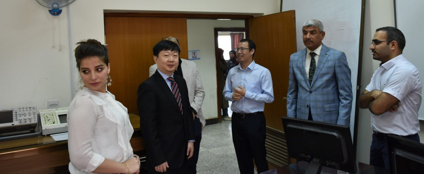 Huawei Visit to Al-Nahrain University: Joint Cooperation with College of Information Engineering
