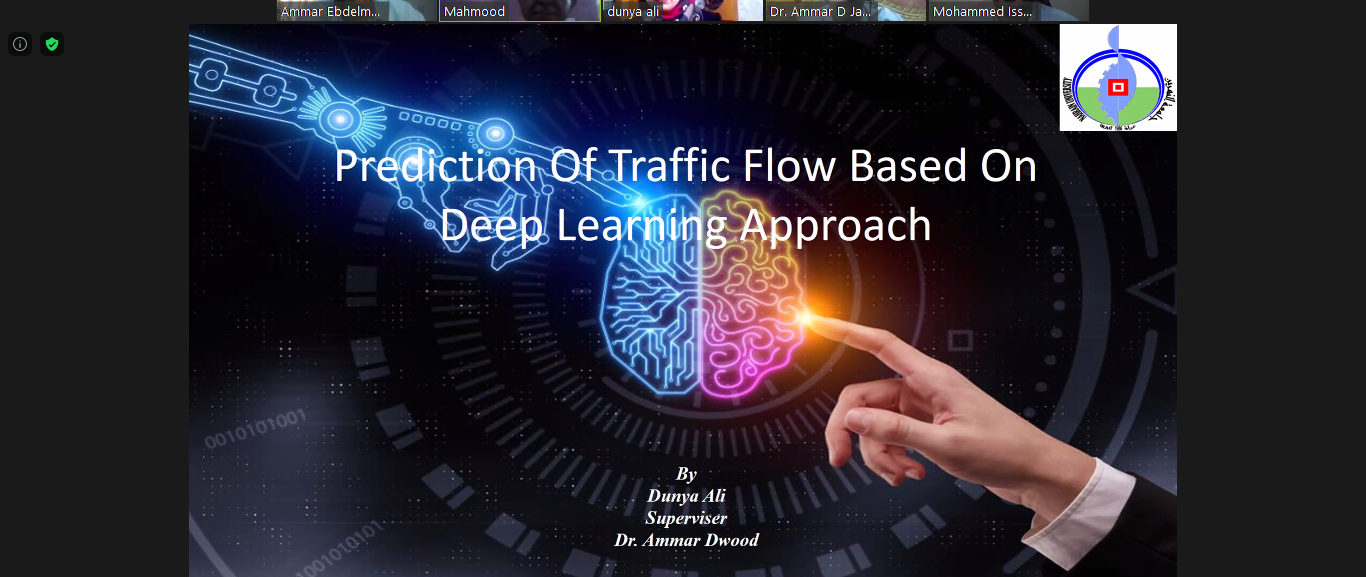 M.Sc. Thesis Defense : Prediction of Traffic Flow Based on Deep Learning Approach
